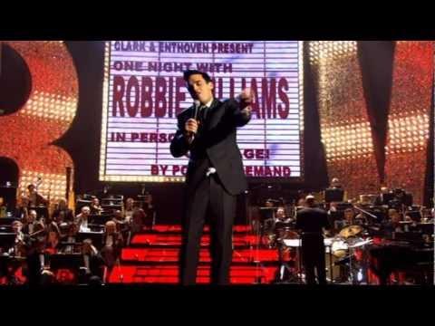 Robbie Williams -  Have You Met Miss Jones? - Live at the Albert - HD