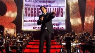 Robbie Williams -  Have You Met Miss Jones? - Live at the Albert - HD