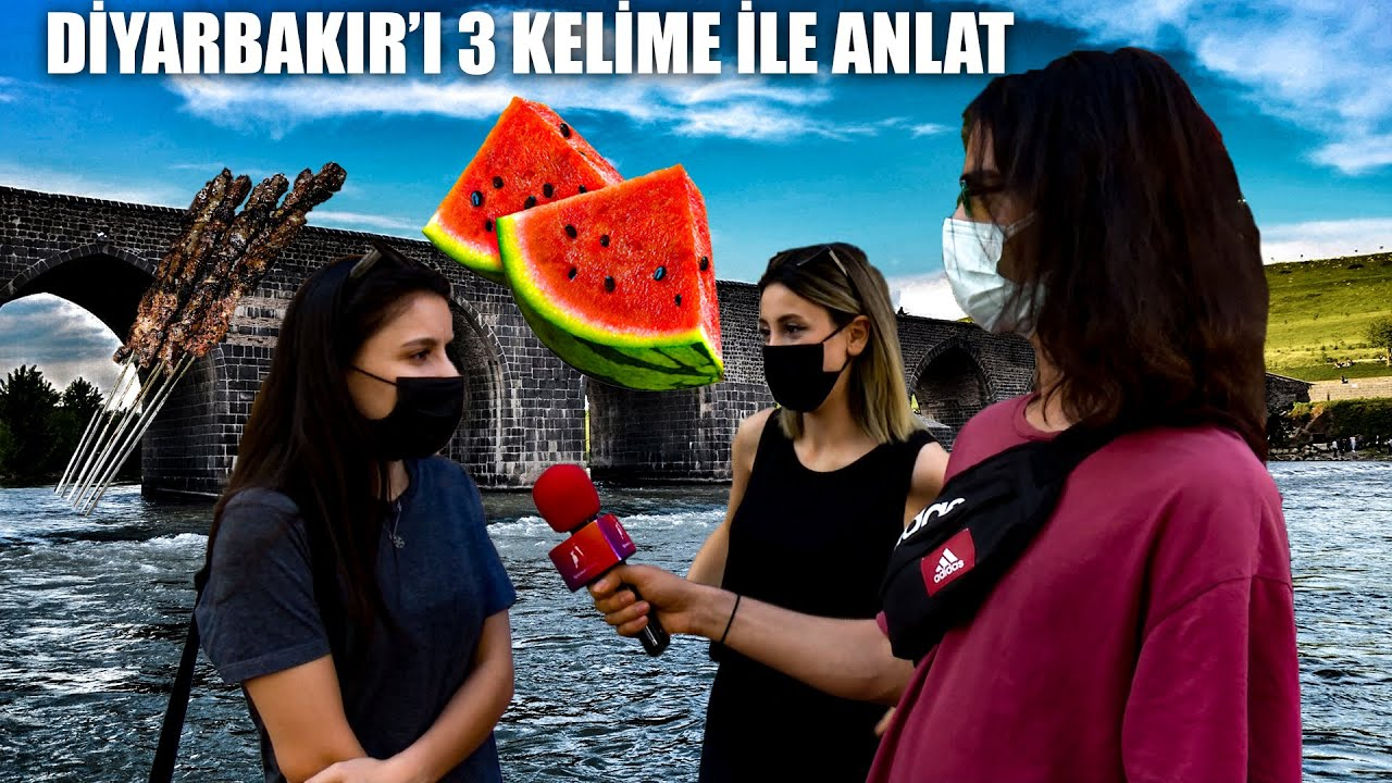 Diyarbakır'ı 3 Kelime İle Anlat ┃Ağaçkakan Röportaj
