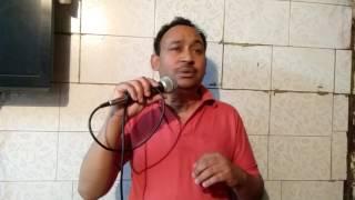 Akele hain chale aao by Arvind jauhari on karaoke 9811854490