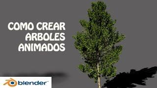 tutorial blender como crear arboles animados