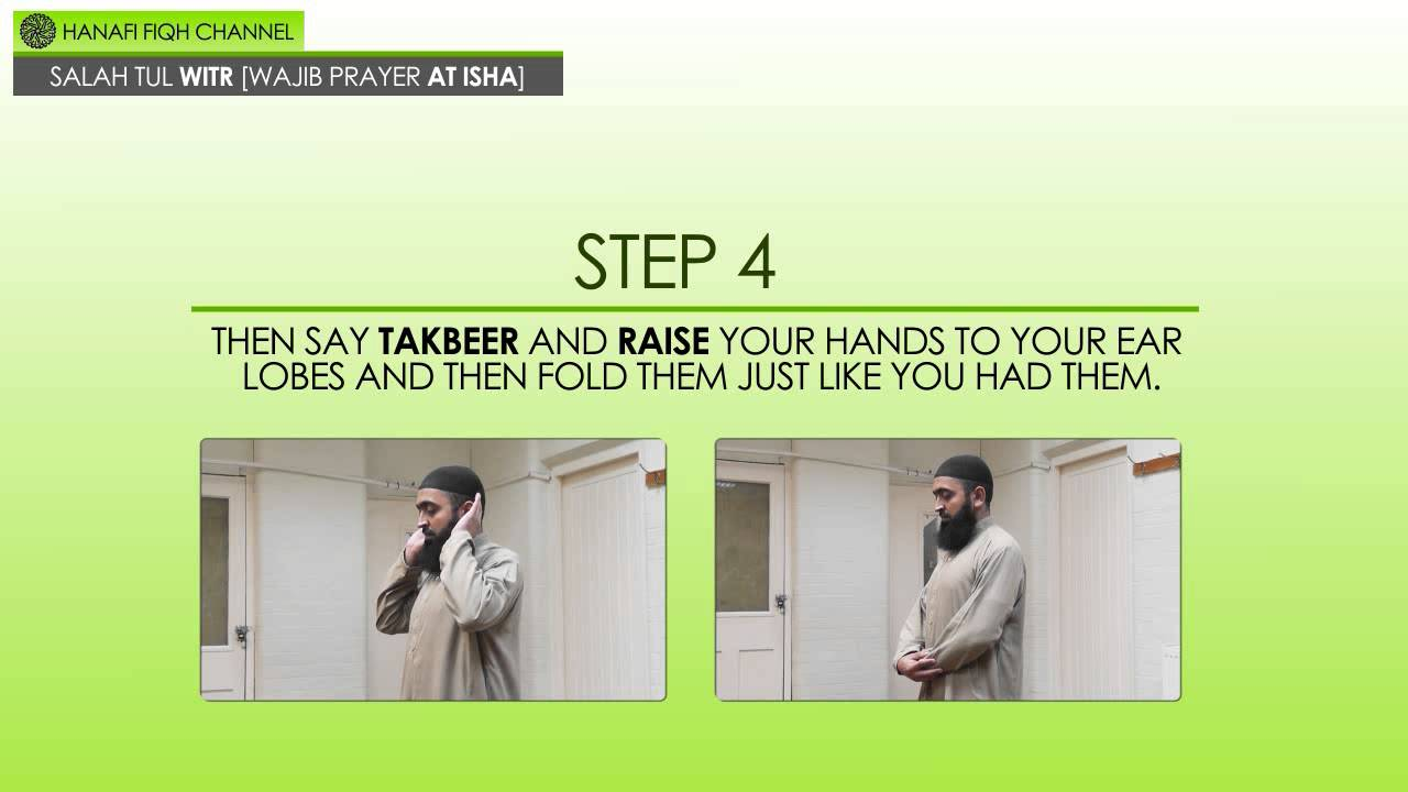 How to perform witr prayer according to sunni