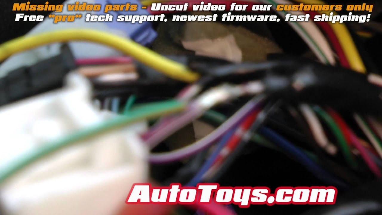 Wiring Diagram For A Pioneer Radio Y Plan Central Heating Axxess Aswc Steering Wheel Tacoma Car Controller, Toyota - Youtube