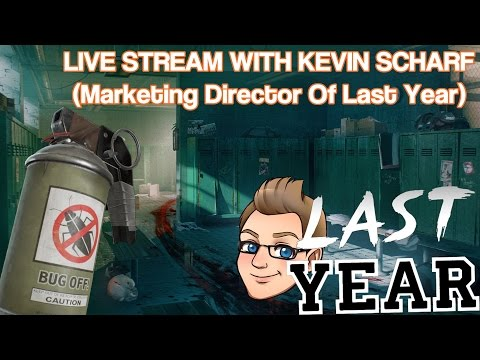 Last Year | Live With Kevin Scharf (Marketing Director At Elastic Games)