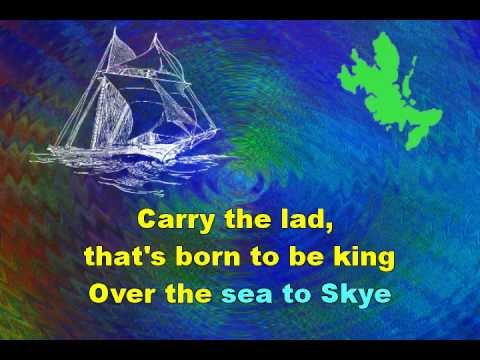 SKYE BOAT SONG : Illustrated Karaoke of a Traditional Scottish Song
