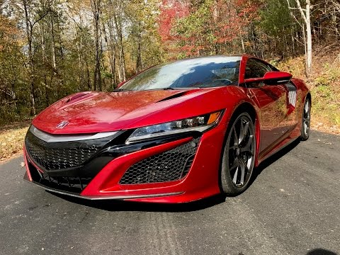 2018 acura nsx review ratings specs prices and photos the car connection. Black Bedroom Furniture Sets. Home Design Ideas