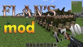 Como baixar e instalar mods no Minecraft: Flan's Mod - 1.7.10