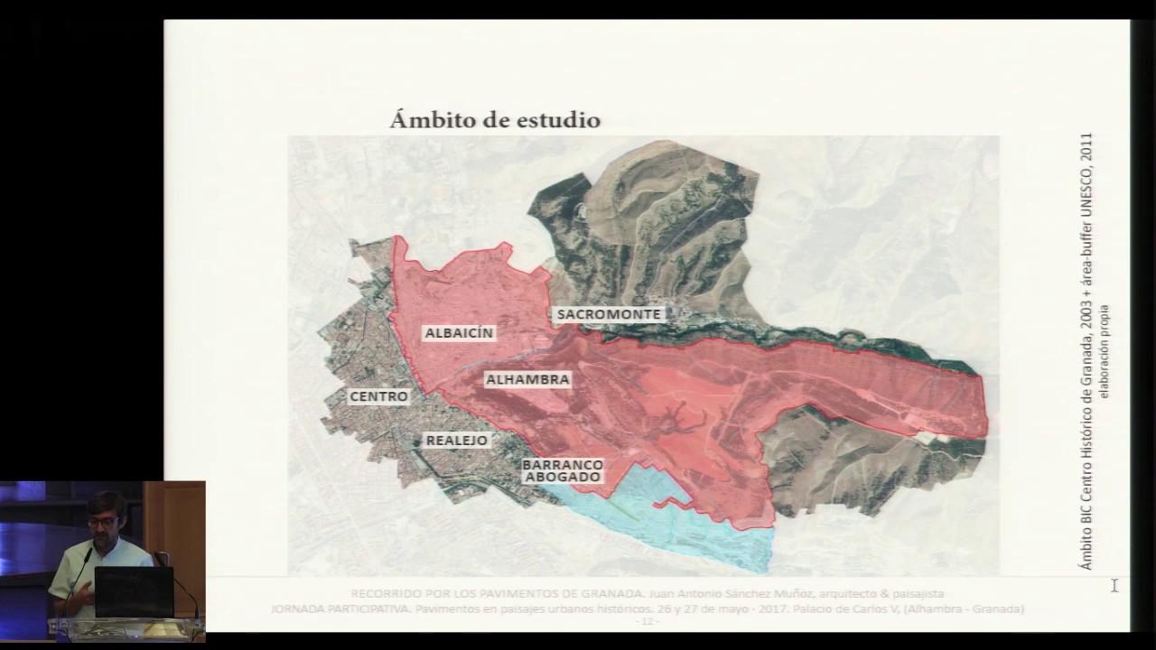 Recorrido por los pavimentos de Granada