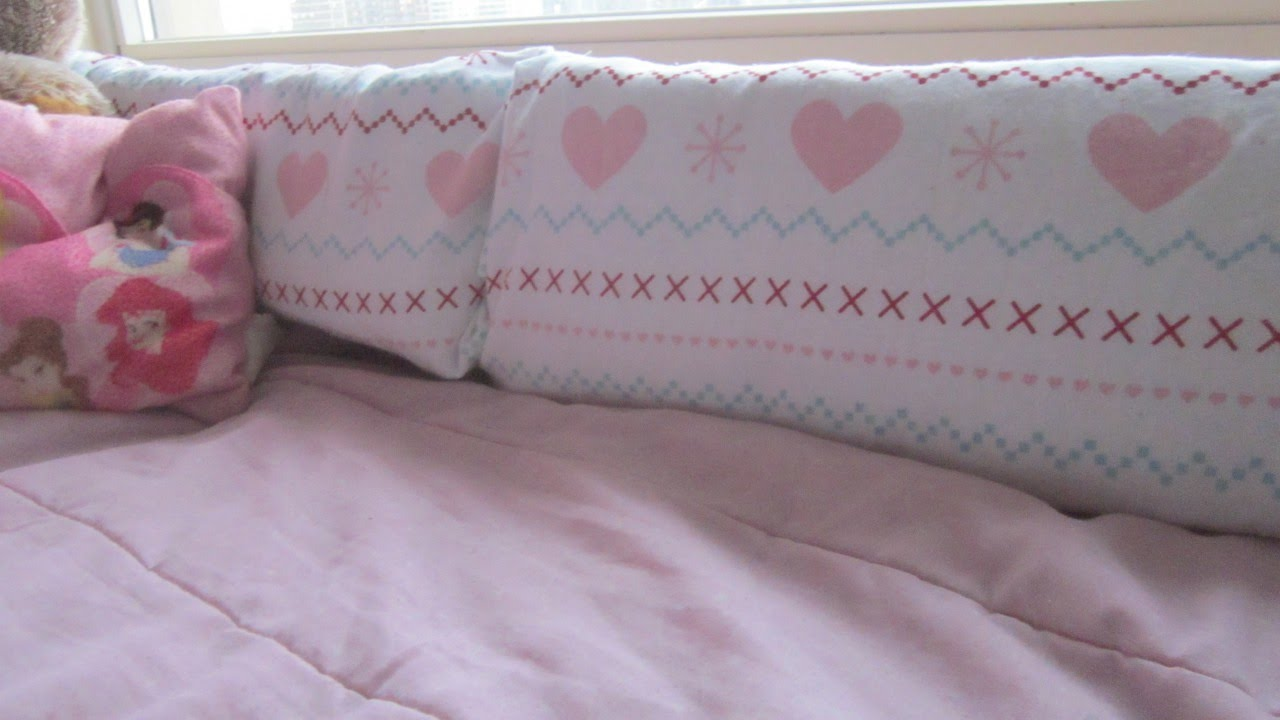 Make Cozy Bumper Style Bunk Bed Pillows Diy Home Guidecentral
