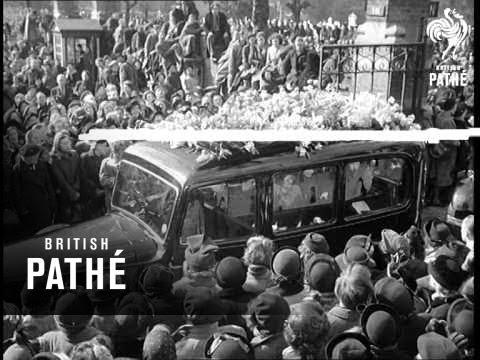 Funeral Of Ivor Novello 1951