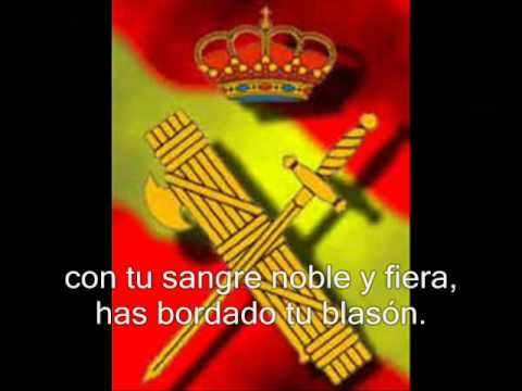 Himno Guardia Civil (con letra)