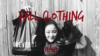 Fall Clothing Haul Thumbnail