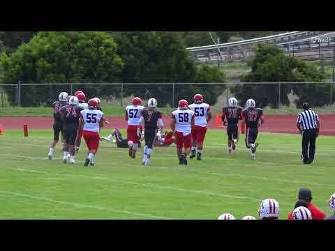 Keaau High School Football Junior Santiago RB Part 2
