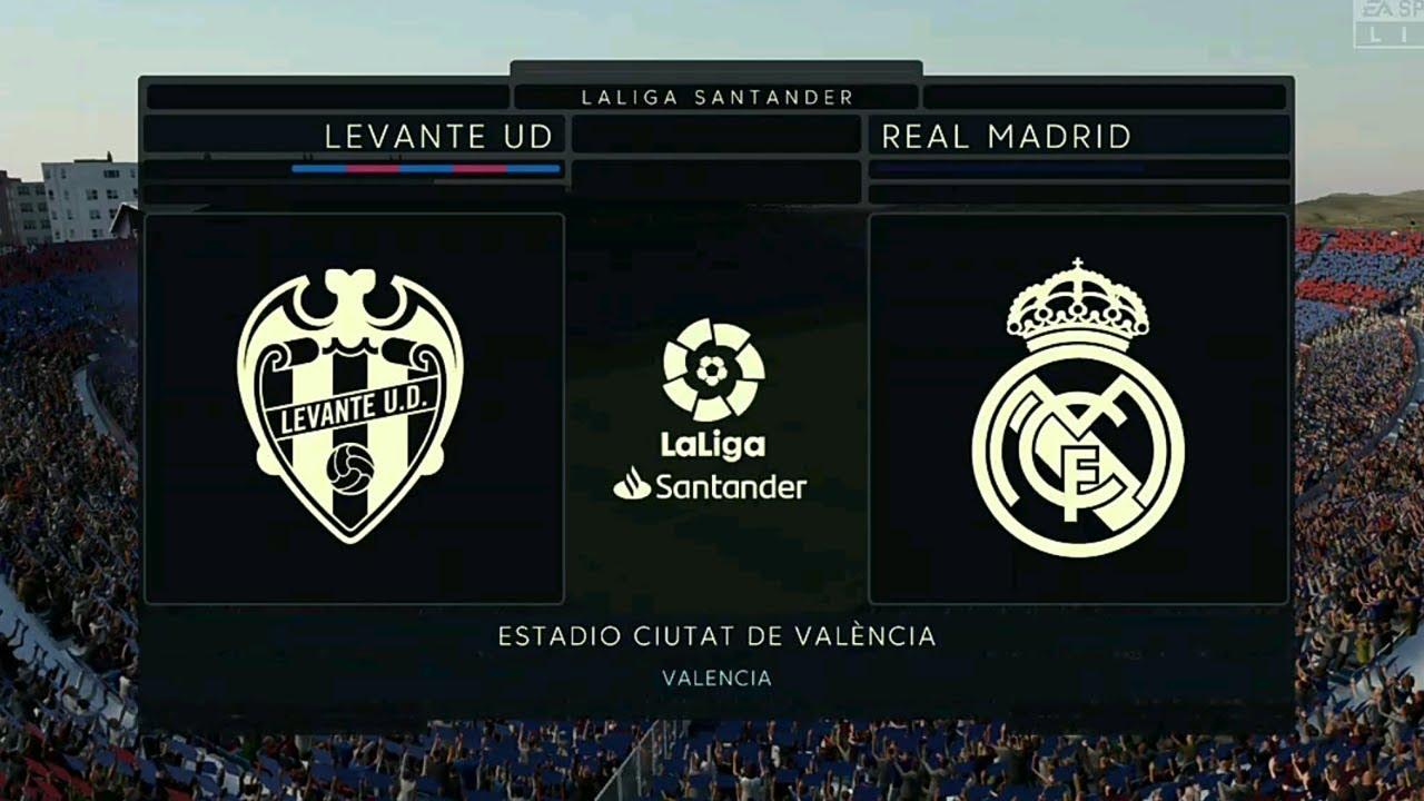 Леванте - Реал 22 февраля смотреть онлайн