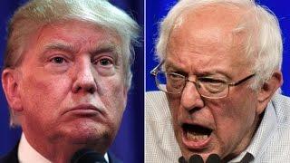 Ralph Nader on Donald Trump vs Bernie Sanders in 2016