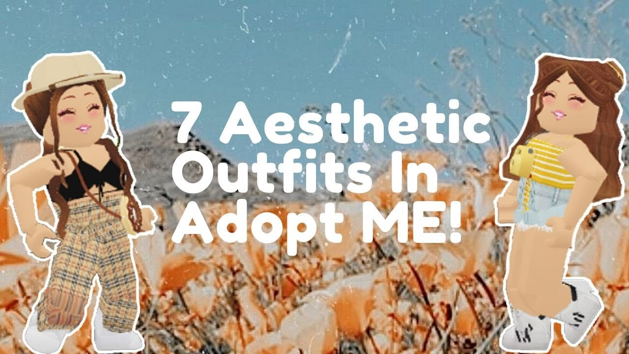 7 Aesthetic Adopt Me Outfits Cloudxrose Youtube