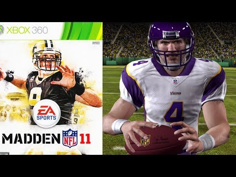 BRETT FAVRE OLD CRUSTY BUTT ITS RODGERS TIME - MADDEN 11 MADDEN MOMENTS