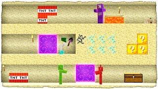 El Hormiguero De Arena Se LlenÓ De Slendytubbies Minecraft Batalla De Excavaciones 12