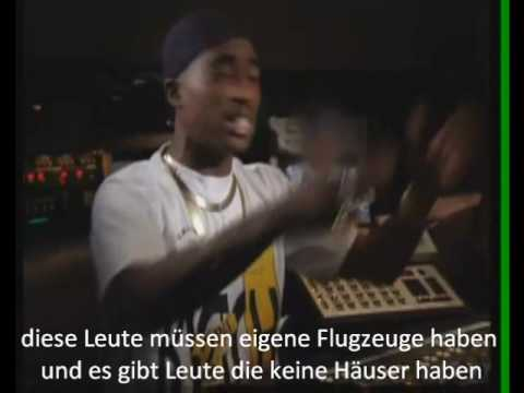 2Pac Interview - About Money  - Deutsche Untertietel