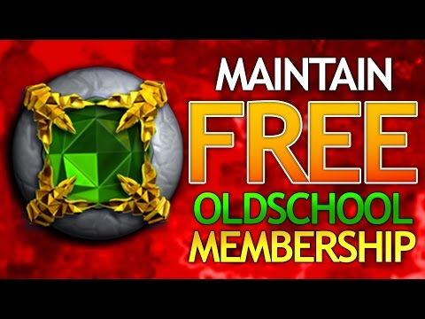 Maintain FREE OSRS Membership