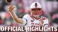 Ryan Finley Official Highlights | NC State QB