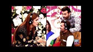 "Faysal Qureshi,Kubra Khan,Yasir Hussain,Aadi & Faizan Playing ""Kuch Kaha Kia"""