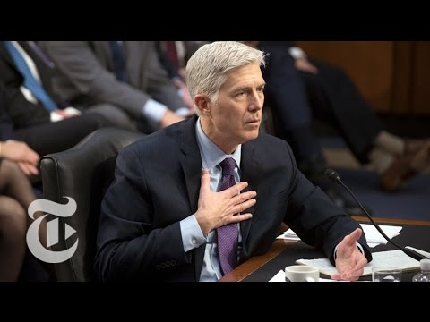 Neil Gorsuch Confirmation Hearings, Day 4 | The New York Times