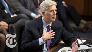 Neil Gorsuch Confirmation Hearings, Day 4   The New York Times