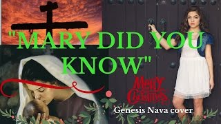 MARY DID YOU KNOW  MERRY CHRISTMAS