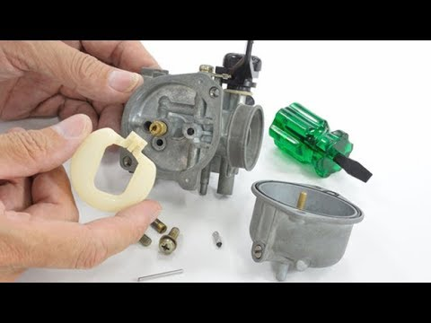 Dissassemble a Bike Carburetor