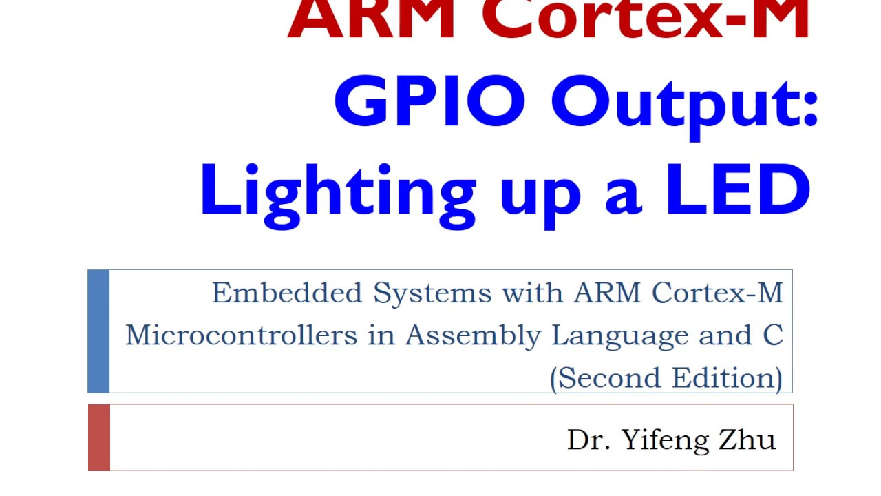 Embedded Systems with ARM Cortex-M Microcontrollers in Assembly