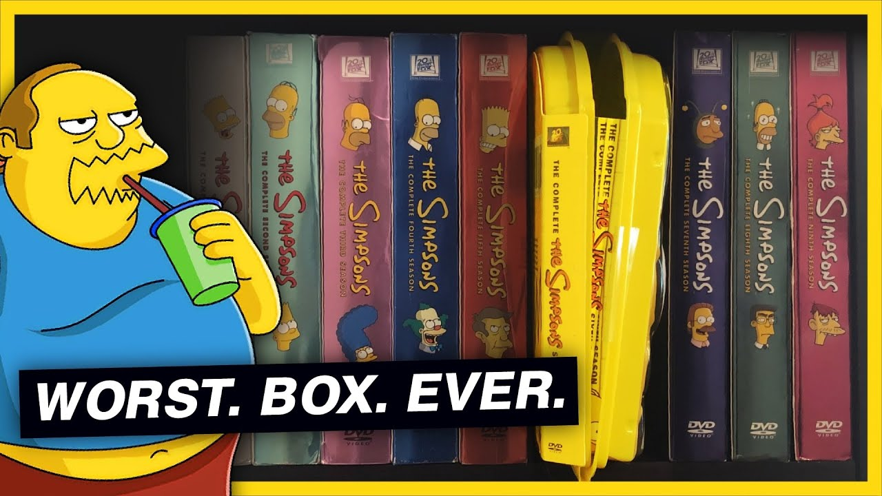 Download The Art of Ruining a DVD Collection (The Simpsons)