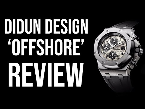 All of this for $24?! | Didun Design 'Offshore' homage review