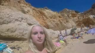 Best Beaches Portugal - Paraiso Beach, Carvoeiro - Algarve Beaches