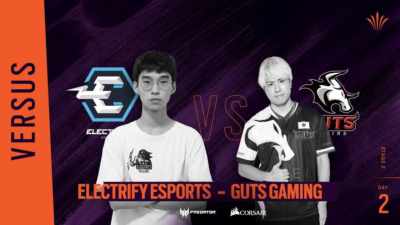 Electrify Esports vs GUTS Gaming // Rainbow Six APAC North Division 2020 - Stage 2 - Playday #2