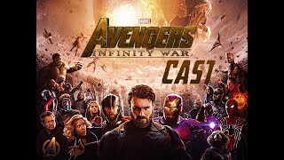 "34 Marvel Characters & Cast that will appear in ""Avengers: Infinity War"" 2018/2019"
