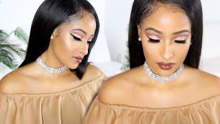 True Brown Cut Crease Slay!! | Kennedy Cymone