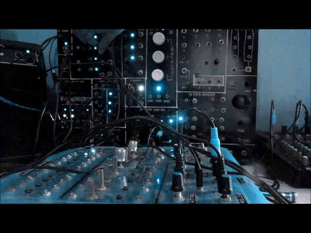 CMOS Homemade Modular Synth Chill Out Patch