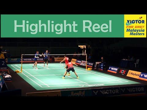 KOO Kien Keat & TAN Boon Heong at the Malaysia Masters 2016 - Highlight Reel