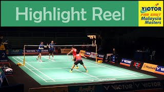 KOO Kien Keat & TAN Boon Heong at the Malaysia Masters 2016 - Highlight Reel