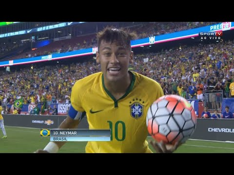 Neymar vs USA (Away) 15-16 HD 720p (08/09/2015)