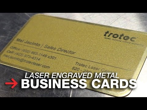 Metal Business Cards | Laser Engraving Aluminum Cards | UV Printed Cards