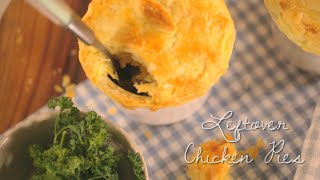 My Easy Cooking - Leftover Chicken Pies
