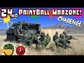GONE WRONG 24 HOUR OVERNIGHT CHALLENGE PAINTBALL WAR ZONE SNEAKING IN CHALLENGE GONE WRONG mp3