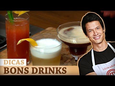 DRINKS (Bloody Mary, Espresso Martini E Whisky Sour) Com Leo Young| DICAS MASTERCHEF