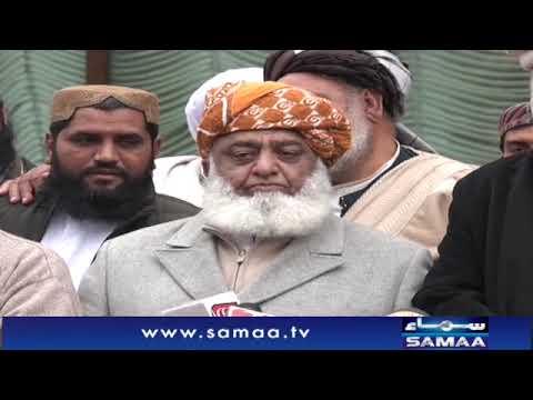 Maulana Fazal Ur Rehman Media Talk Today | SAMAA TV | 03 Jan 2020