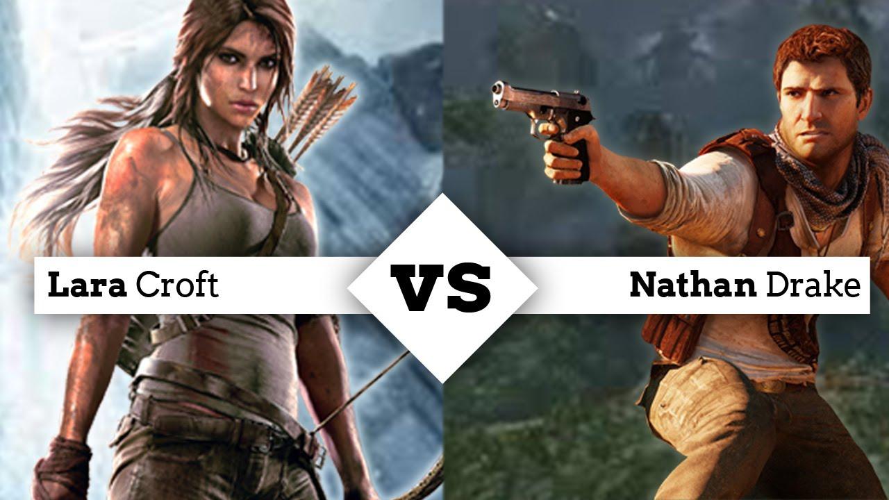 Lara Croft And Nathan Drake: Cara A Cara: Nathan Drake Vs Lara Croft