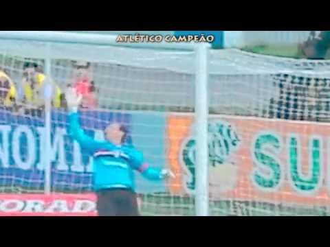 Atlético Campeão - Atlético PR x São Paulo 10/11
