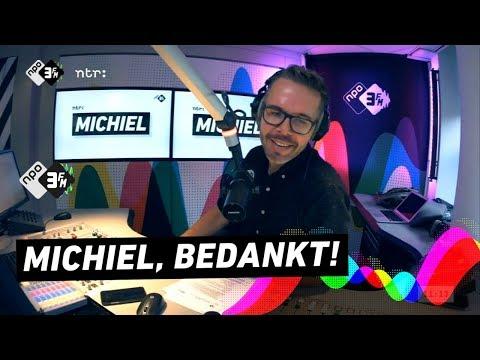 Michiel Veenstra verlaat na 13 jaar 3FM | 3FM Gemist