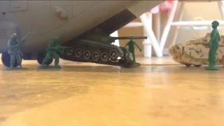 Army men:Green vs. Tan. Plastic Platoon: G-Day, Green Invasion